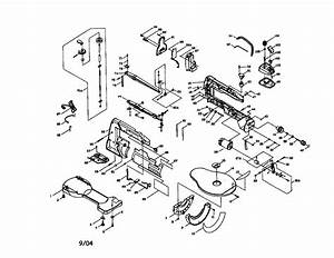 Craftsman 137216100 Scroll Saw Parts
