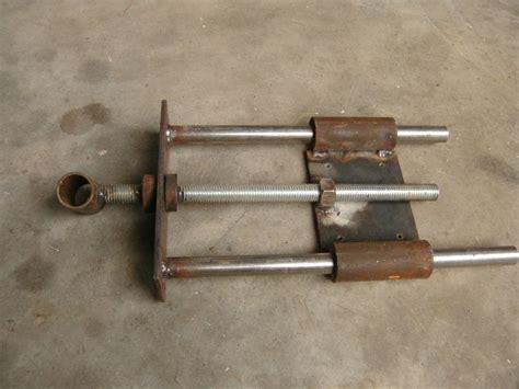 images  diy vises  pinterest bench vise homemade  workshop