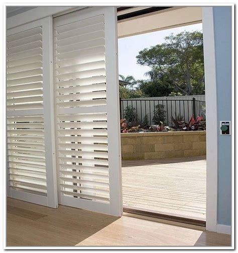 bypass plantation shutters for sliding glass doors joe