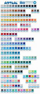 S Color Chart  U2013 Artkal Beads Store