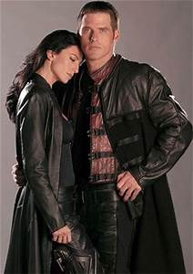 Claudia Black and Ben Browder - Farscape | let your geek ...