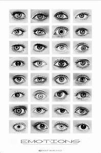 Eye Drawing Reference Guide
