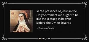 TOP 25 BLESSED ... Sacrament Quotes