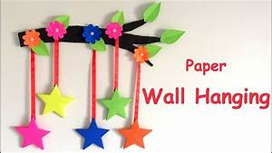 DIY - Wall Hanging from Paper /paper craft /card board
