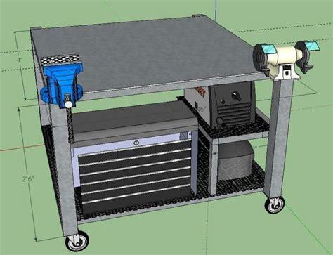 steel welding table plans les 25 meilleures idées concernant welding table sur