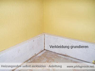 Heizungsrohre Verkleiden Wand by Heizungsrohre Selbst Verkleiden Isolieren Anleitung