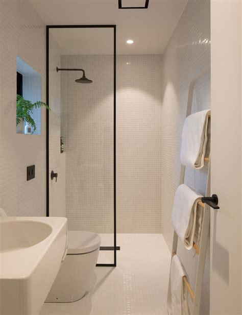 how minimalist design took this small bathroom to the next