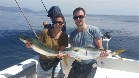 Yellowtail Fishing  Hooked On Africa Fishing Charters