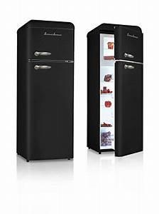 Refrigerateur Noir 1 Porte : schaub lorenz sl208ddb r frig rateur vintage noir deux ~ Melissatoandfro.com Idées de Décoration