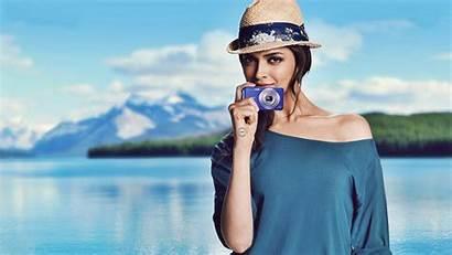 Deepika Padukone Sony Camera Wallpapers Background 8k