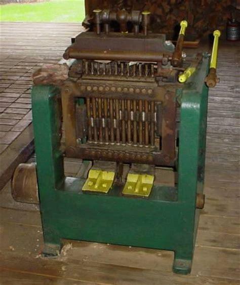 photo index alexander dodds  dodds dovetail machine