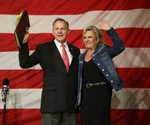 Roy Moore, Wife Will Ride to Polls on Horseback   Newsmax.com