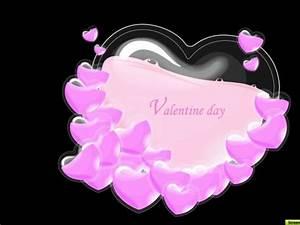 heart wallpaper Hd: Black And Pink Heart Wallpaper
