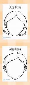 Blank Faces Templates. Free Printables - Children can draw ...