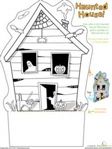 reading activities for 3rd grade printables haunted house worksheet education