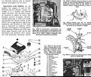 Mcculloch 250 Chain Saw Service Repair Guide Manual