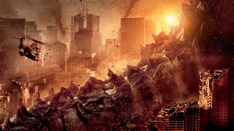 full hd wallpaper godzilla ruin tail megapolis desktop