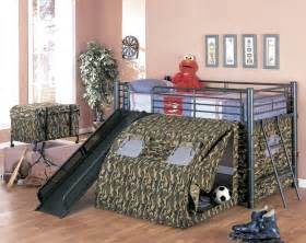 how to create a camo bedroom