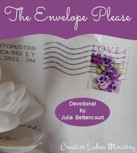 Bettencourt Baby Shower Devotional - the envelope gods devotional for christian