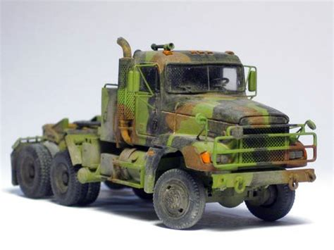 M916a1 6x6 Freightliner Military Truck Tractor