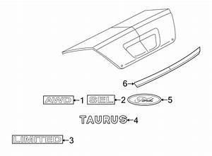 Panel Diagram 1999 Ford Taurus Exterior