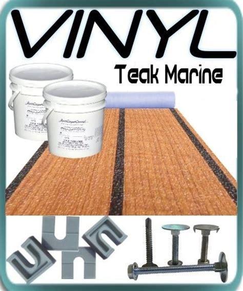 Pontoon Boat Vinyl Flooring Kits by Teak Vinyl Flooring Kit
