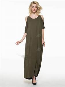 robe casual maxi epaules ouvertes tidebuycom With robe tidebuy