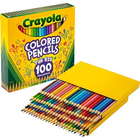 crayola coloring pencils crayola colored pencils assorted colors