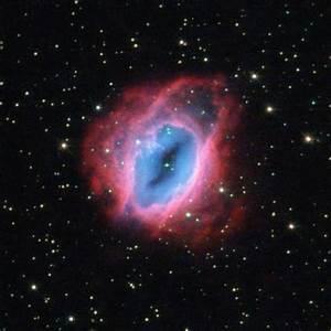 NASA - Hubble Observes Glowing, Fiery Shells of Gas