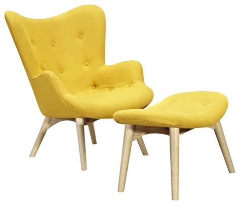 papaya yellow aiden chair indoor chaise lounge