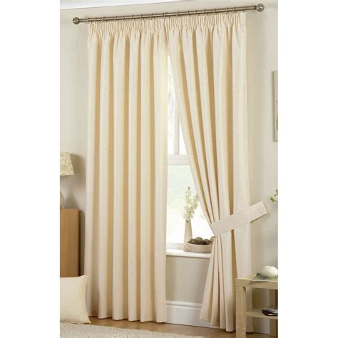 hudson 3inch lined curtains in natural next day select
