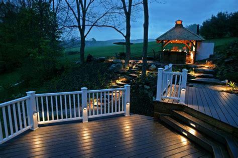 outdoor deck lighting top deck lighting ideas jbeedesigns outdoor deck
