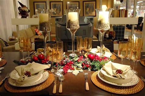 elegant christmas table settings ideas diy christmas table decorations modern magazin
