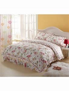 Bettwäsche Set 4 Teilig : romantische 4 teilig pink floral cotton bettw sche set ~ Orissabook.com Haus und Dekorationen