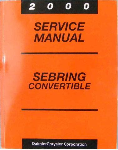 hayes auto repair manual 2003 chrysler sebring windshield wipe control 2000 chrysler sebring convertible factory service manual