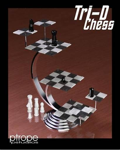 Tri Chess Poser Sharecg
