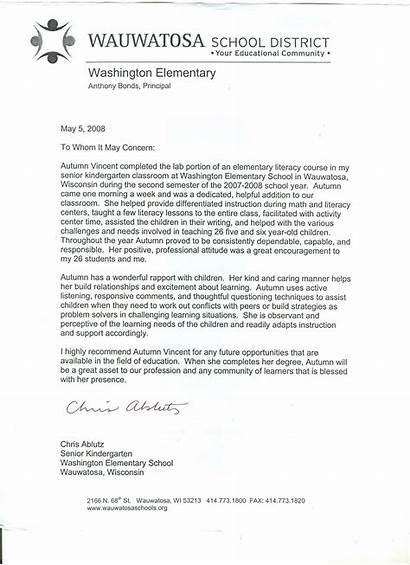 Recommendation Letter Letters Teacher Teachers Samples Sample