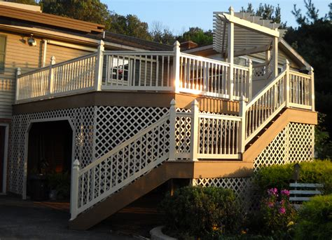 deck skirting ideas other than lattice lattice privacy deck panel deck design and ideas
