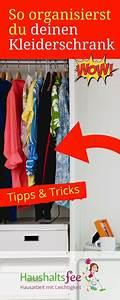 Kleiderschrank Sortieren Tipps : checkliste kleiderschrank aufr umen neu organisieren allgemein pinterest aufr umen ~ Markanthonyermac.com Haus und Dekorationen