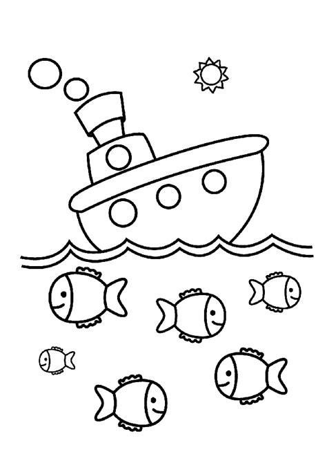 Tekne Boyama by Gemi Boyama Sayfası Okul 246 Ncesitr L Preschool
