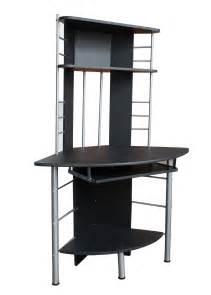 black computer desk home office table pc work station corner unit furniture 017 ebay
