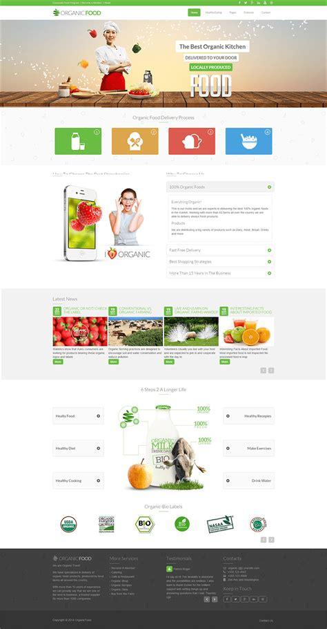 Free Theme 8 Best Food Drupal Themes Templates Free Premium
