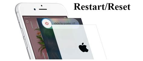 How To Restart Reset Iphone