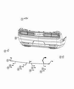 Dodge Challenger Wiring  Rear Fascia   Rear Fascias Parts