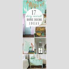 17 Diy Mint Home Decor Ideas
