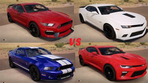 Mustang Vs Camaro Drag Race by Mustang Vs Camaro Drag Race Forza Horizon 3 Gameplay