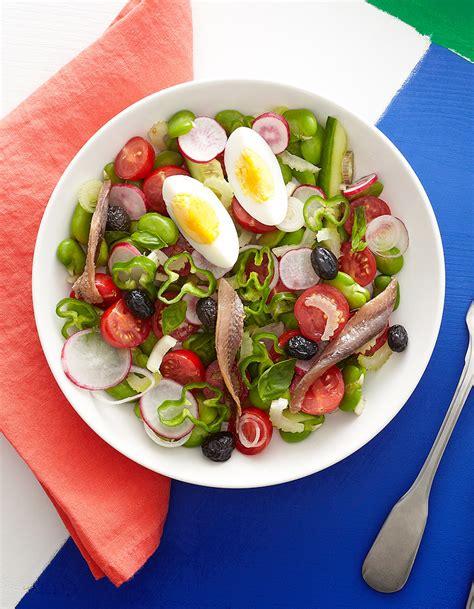 cuisine nicoise salade niçoise pour 4 personnes recettes à table