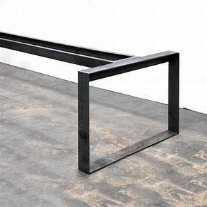 Pied De Table Basse Metal Industriel : pied table design industriel ~ Teatrodelosmanantiales.com Idées de Décoration