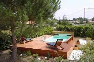 les atouts dune piscine hors sol en bois With amenagement autour d une piscine hors sol 1 comment amenager les alentours de sa piscine semi enterree