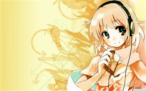 Anime Headphones Wallpaper - headphones anime wallpapers hd